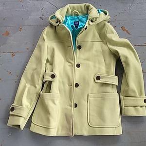 Gap spring green pea coat
